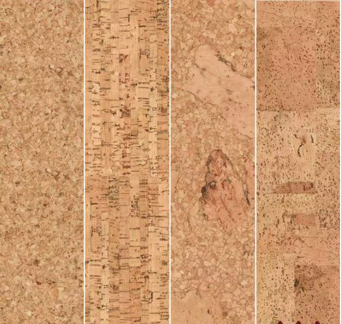 natural cork flooring for home decoration