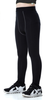 Noir pantalon épais