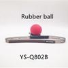 रबर की गेंद लाल