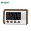 Brown Arabic talking clock