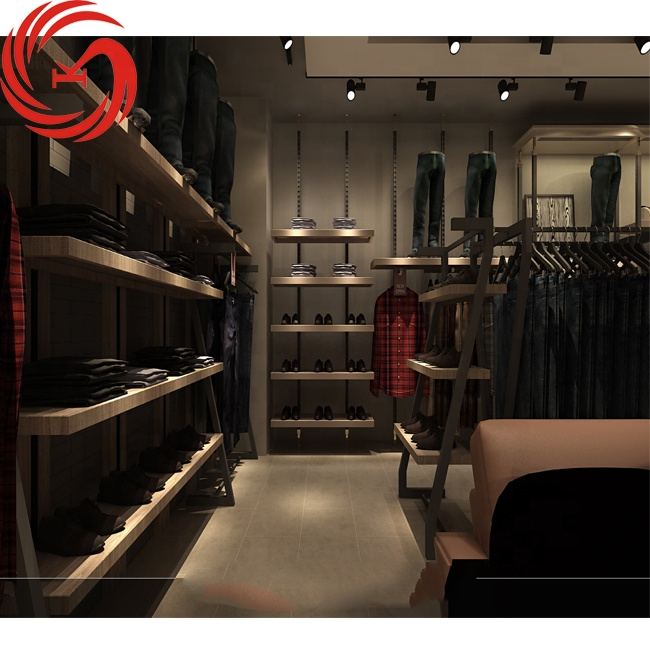 Stationery Unit Furniture Modern Interior Decoration Ideas Design Jeans Shop Buy Jeans Store Design Display Small Round Modern Mall Luxury Hanging Rack Retail Gold Men Shelves For Jeans Display For Interior Shop