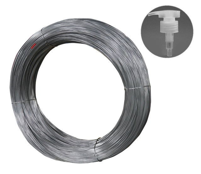 302 0.8mm stainless steel spring wire for lotion pump spring and trigger sprayer spring