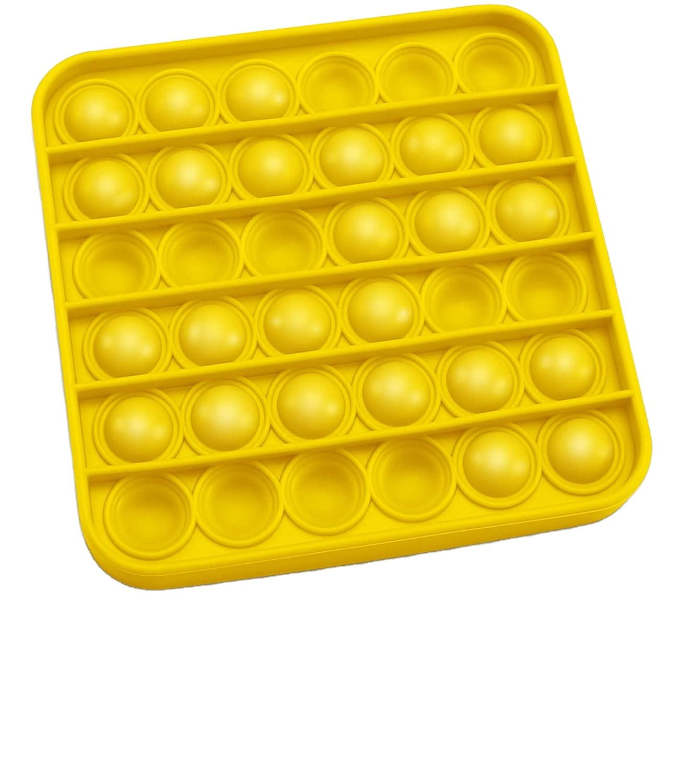 Оптовая продажа, изготовленные на заказ силиконовые пузырьки, игрушка-антистресс для людей с аутизмом, СДВГ, особые потребности, силиконовая игрушка-антистресс