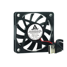 Бесщеточный вентилятор для компьютера, пк, 5 в, 12 в, 24 в, 60x60x10 мм, чехол для процессора, вентилятор охлаждения 6 см, 60 мм, USB, 2PIN, 3PIN, вентиляторы-ку...(China)
