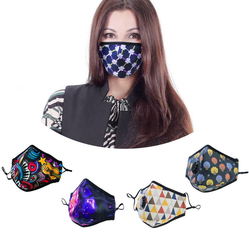 air odor washable cotton activated catbon anti pollution mouth face mask - KingCare | KingCare.net