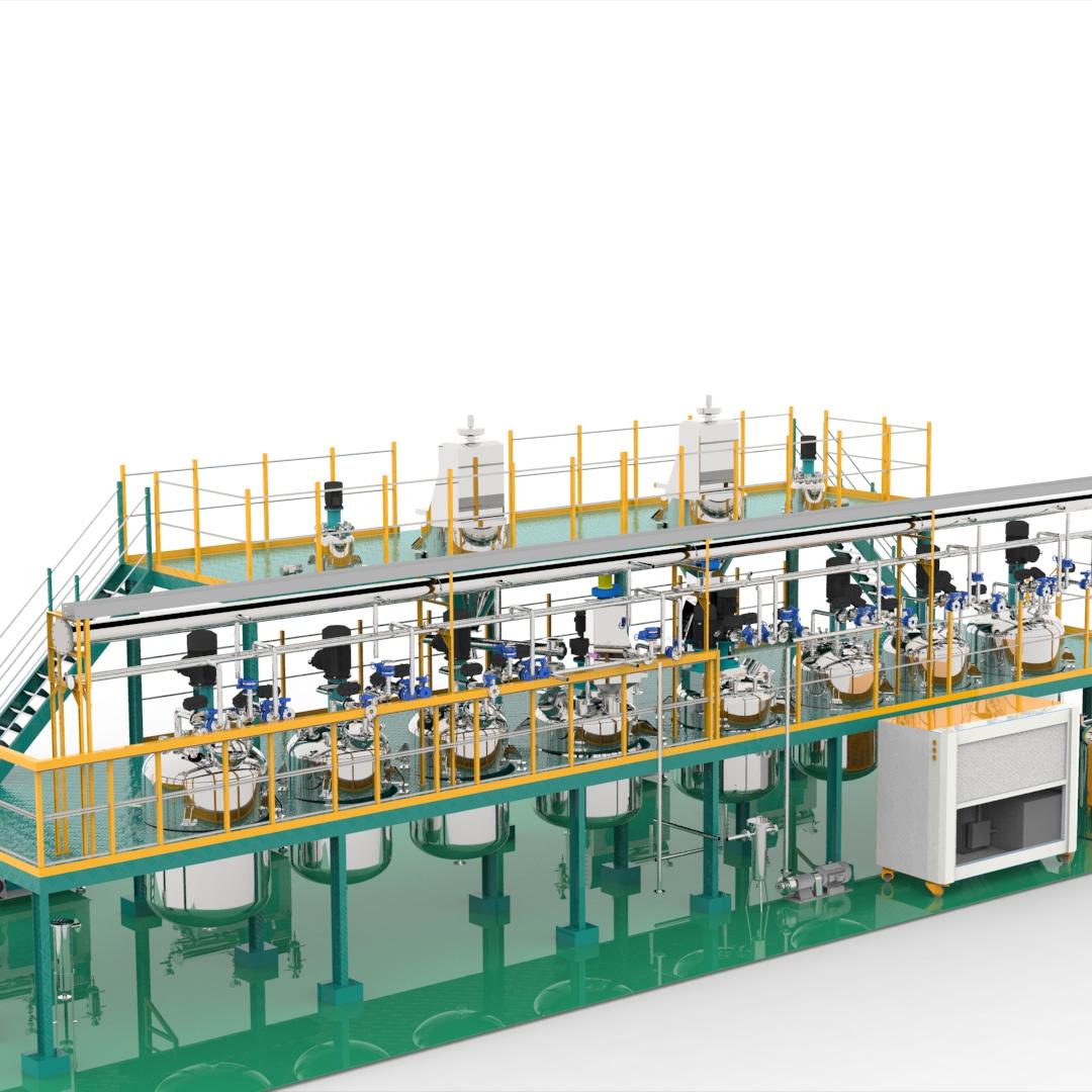 complete production line for pesticide sc