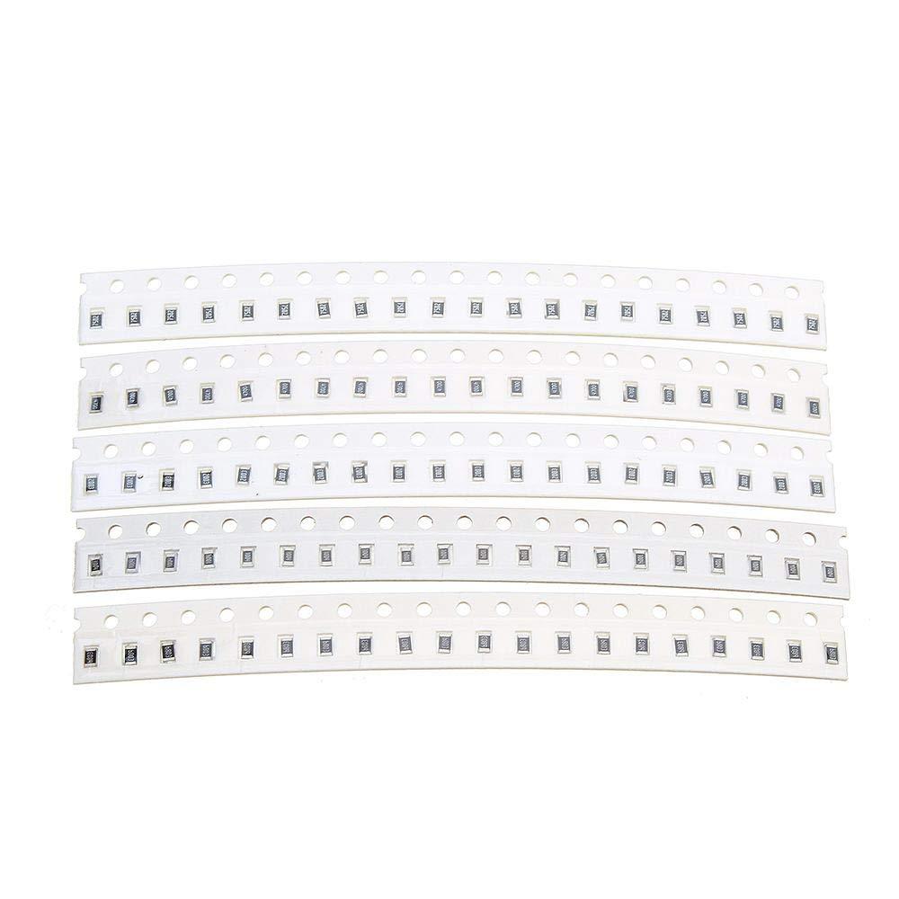 0805 SMD resistor kit assorted kit 1ohm-1M ohm 1/% 33values x 20pcs=660pcs`US