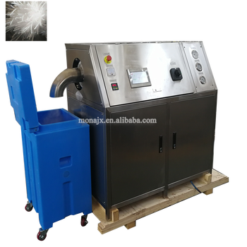 liquid co2 pelleting dry ice making machine dry ice maker for export