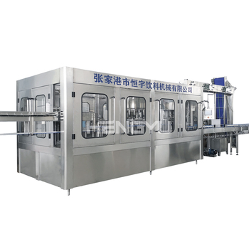 2020 Full Automatic 3in1 Complete PET Bottle Pure Filling Production Machine Line Equipment Mineral Water Plant Price