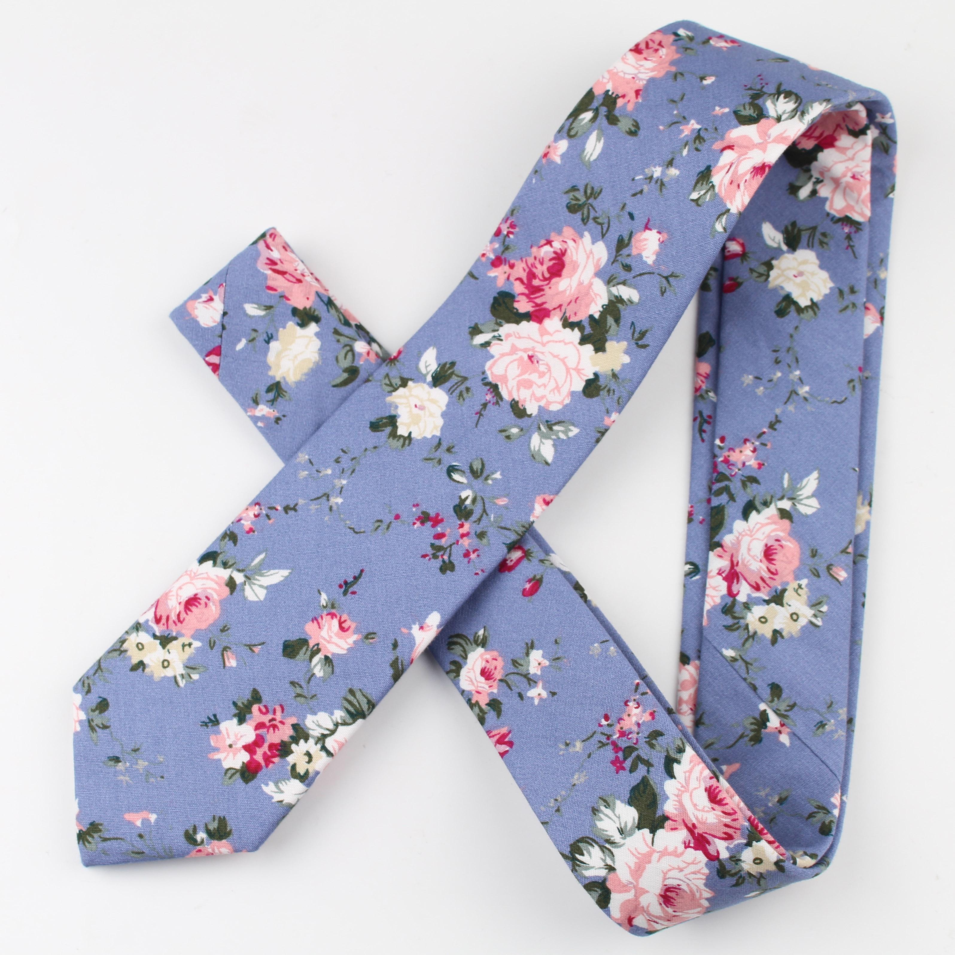 Цветочный хлопковый галстук каркас искусственные тонкие галстуки мужской тюльпан маленький галстук якорь дизайнерский Звездный Галстук Пейсли
