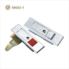 Lock Electric Zinc Die-casting Red Push Button Lock Electric Cabinet Door Lock