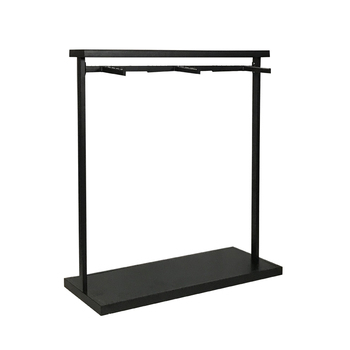 2019 hot sale garment shop Modern metal display stand furniture for clothing