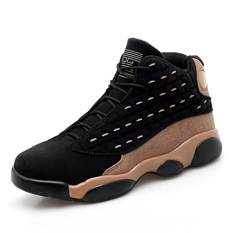 Imitation Suede Durable Basketball Shoes Men Basketball Sports Shoes