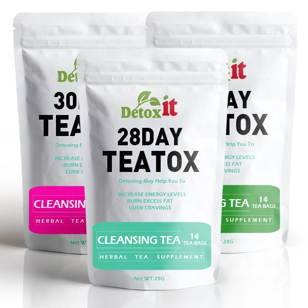 Customized Chinese Herbal Teas 14 Day Morning And Night Time Tea Detox - 4uTea | 4uTea.com