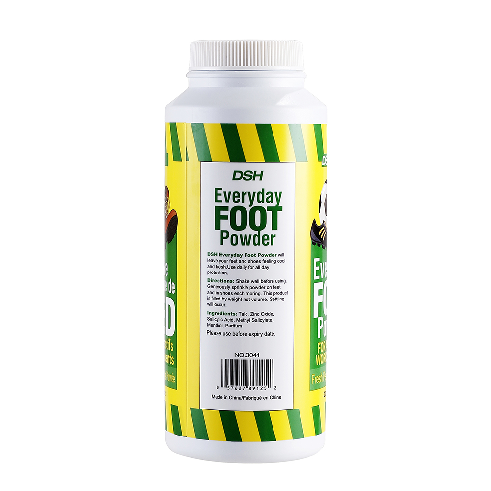 DSH Foot Powder 200g Peppermint Scent Keep Dry Anti-itching Breath Freely Foot Skin Care Soothing Powder