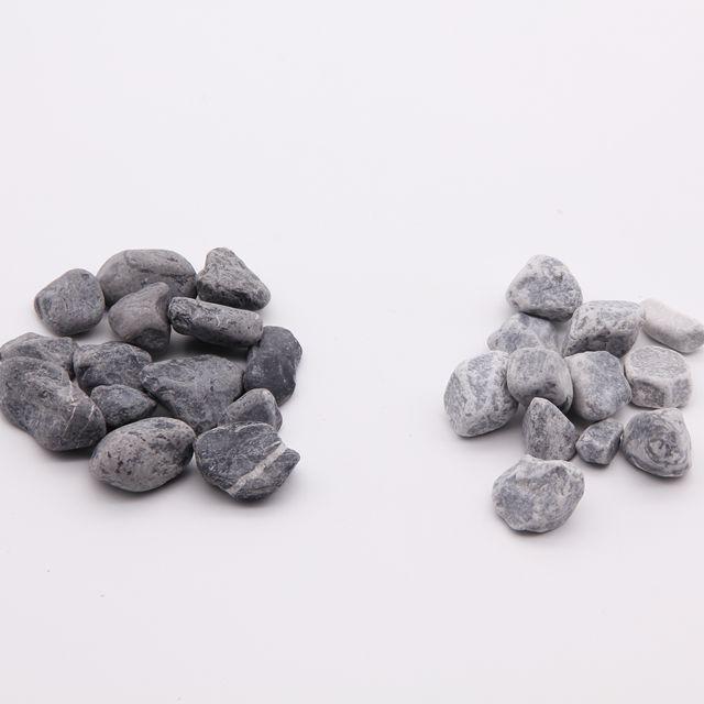 Натуральный Цветной Камень ------- черный галька