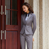 Women Gray suits(blazer+Vests+pants)