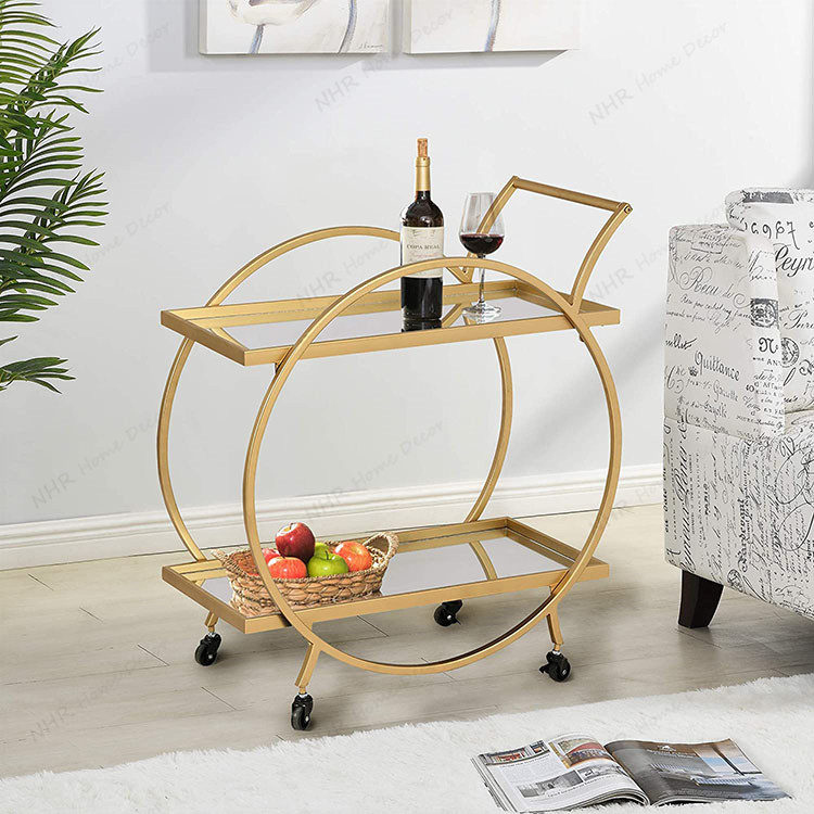 Suitable For Many Occasions Handmade French Bar Cart