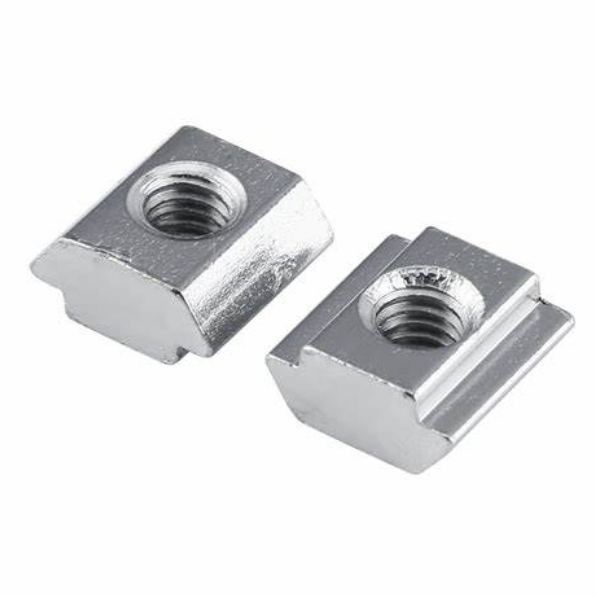 Sliding Block Groove 10 T-slot Hardware accessories sliding nut aluminum