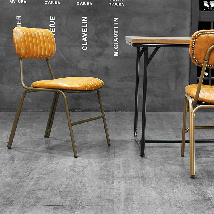 Wholesale Nordic Cheap Indoor Home Furniture Room Restaurant Dinning Leather Modern Dining Chair