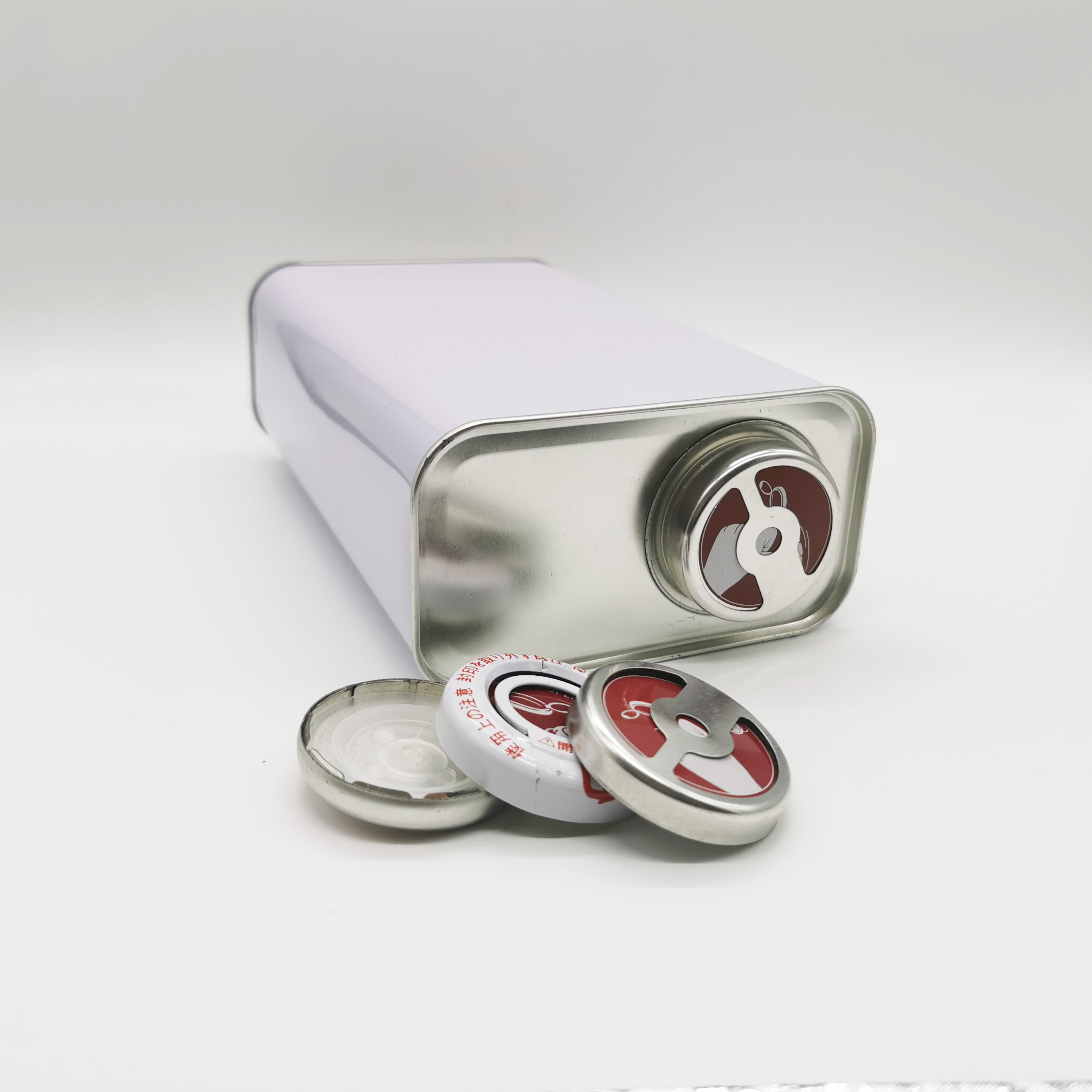 high quality 5L rectangular empty metal container industrial oil tin cans