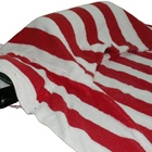 Cotton Handle Large Beach Towel With Pillow And Pocket