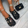 shoe+bag black