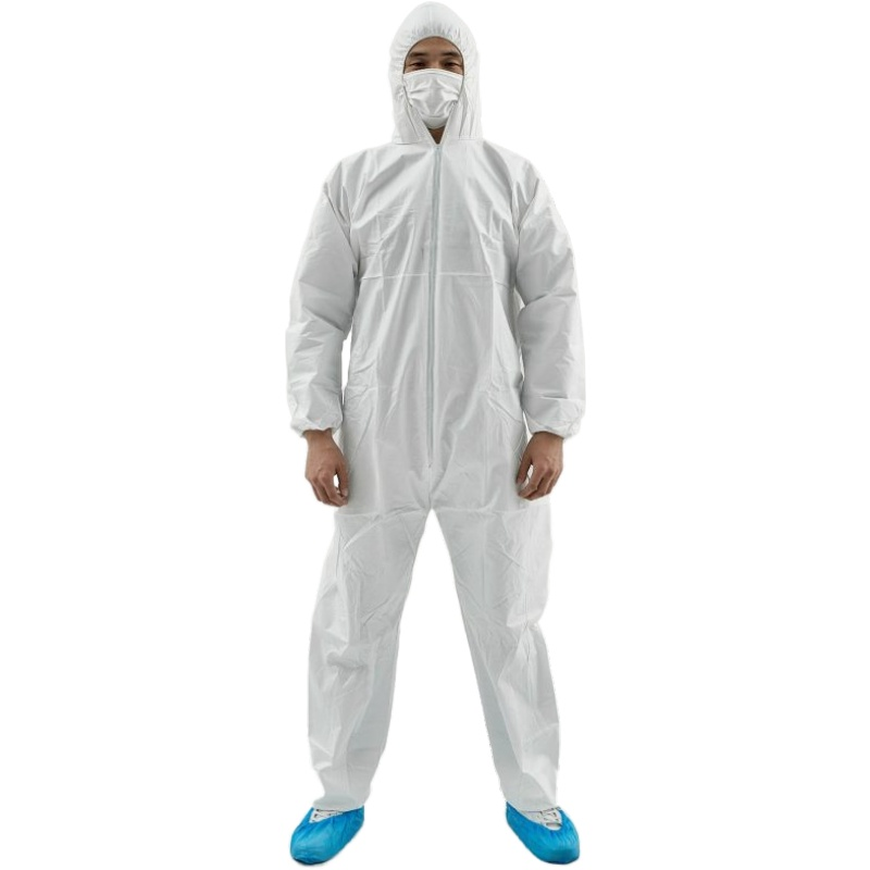 PPE overalls disposable coverall EN14126 Boilersuit - KingCare | KingCare.net