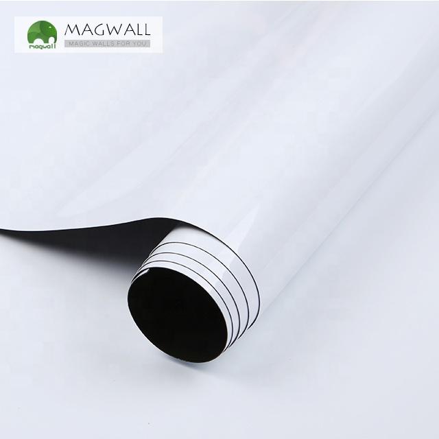 Magwall single-layer Adhesive dry erase self-adherence no folding whiteboard metal surface mounted soft BOPET film - Yola WhiteBoard | szyola.net