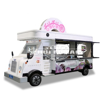 HUI FU LAI new designed multifunctional unique food truck price list fast-food-truck and food track trailer for sale