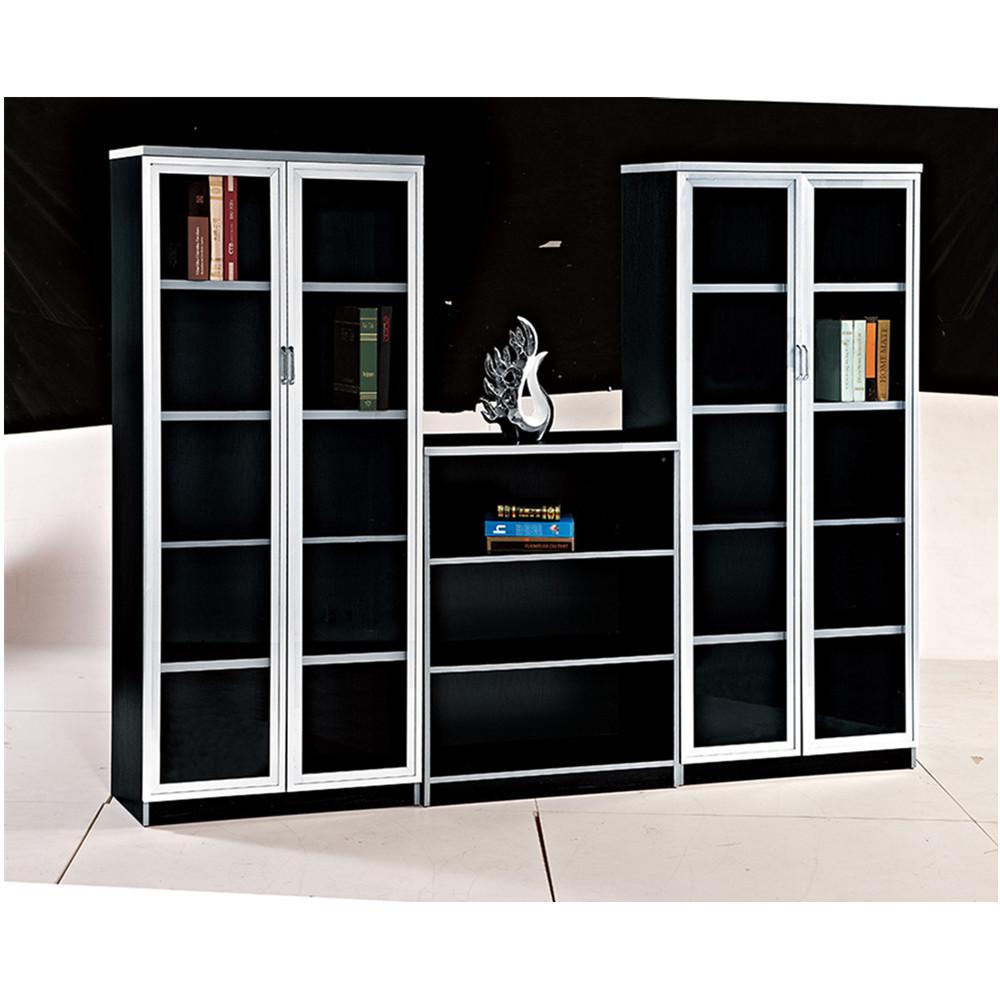Modern wood case melamine board book shelf