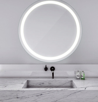 Free Standing Battery Powered desktop LED Makeup Mirror