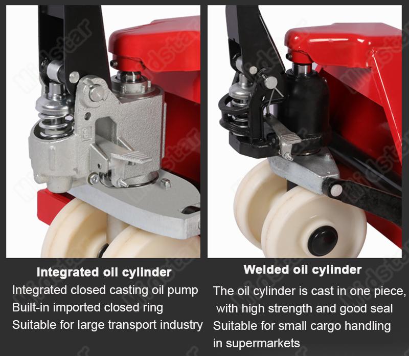Manual Forklift price 3000kg Hand Pallet Jack lifter hand scissor lift Pallet Truck