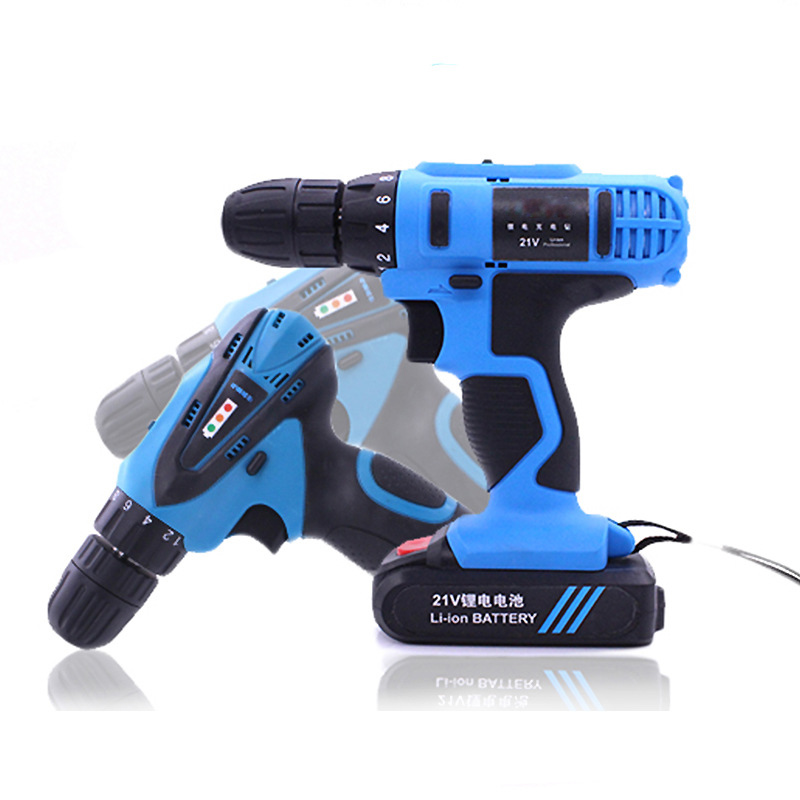 12V Lithium Battery Drilling Machine Industrial Charging Electric Brushless Cordless Power Tool Drill