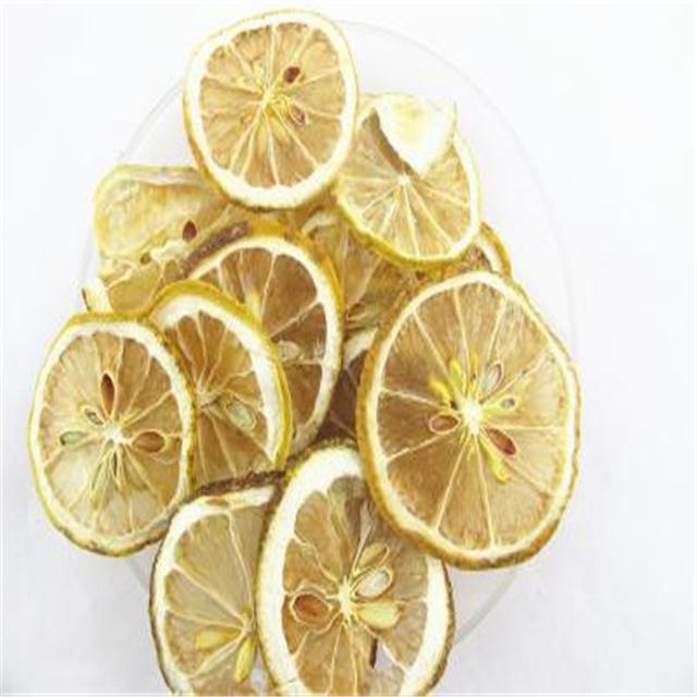Замороженные ломтики лимона