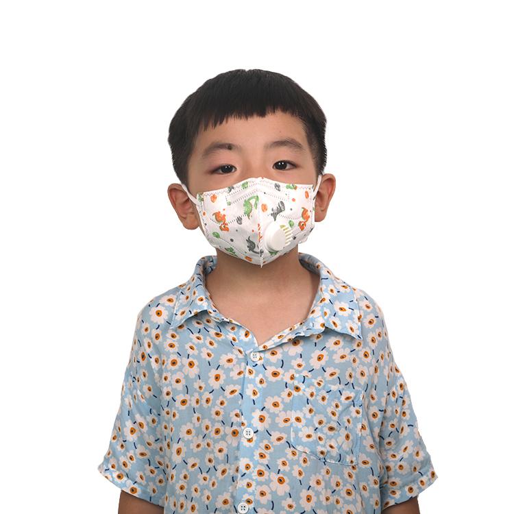 Dustproof Soft And Skin-Friendly Easy To Wear Kids Face Mask - KingCare | KingCare.net