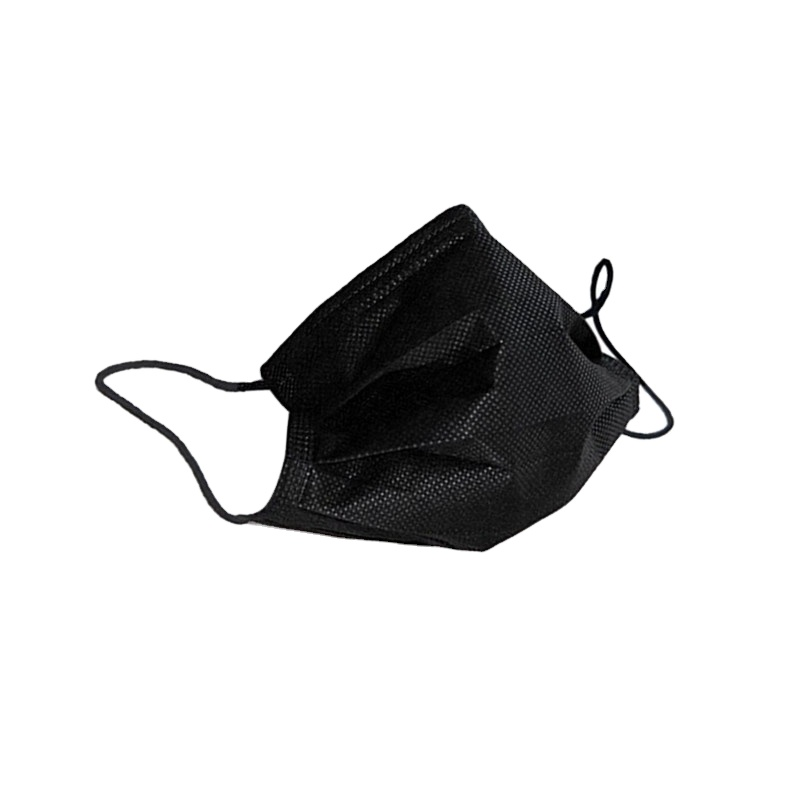 high quality disposable 3ply medical black face mask with designs surgical mask factory