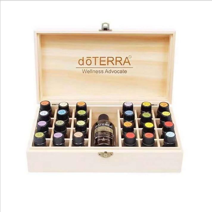 Деревянная коробка для хранения эфирных масел 10 мл, бутылки для ароматерапии