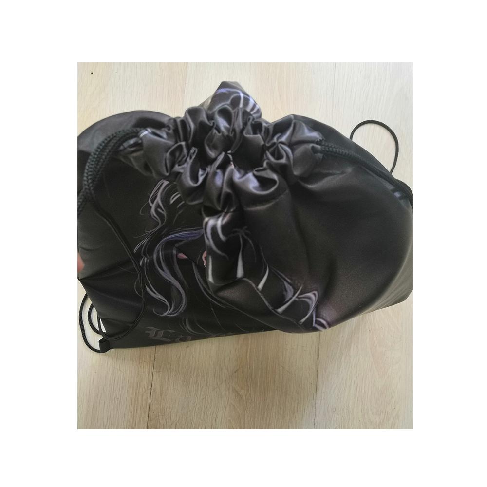 Персонализированная спортивная сумка на шнурке для спортзала с цветным принтом на заказ