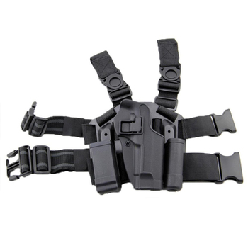 Tactical Right Pistol Thigh Drop Leg Holster For Glock 17 1911 P226 M92 USP