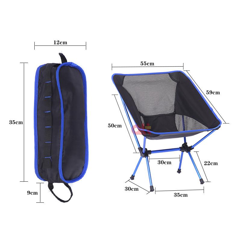 Оптовая продажа, стул для кемпинга, новый дизайн, Сверхлегкий складной стул для кемпинга, компактный легкий уличный складной стул для пикника и кемпинга