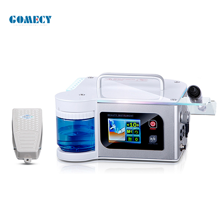 GOMECY Nail drills spray machine electric nail driller machine with 15000rpm to 40000rpm selection driller