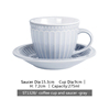 ST1328/cup and saucer gray