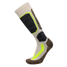 Высококачественные хлопковые толстые Лыжные носки с подушкой, зимние спортивные носки для катания на сноуборде, теплые термоноски(Китай)