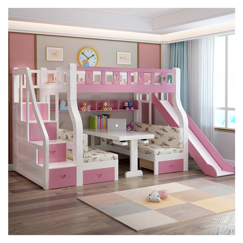 Jnz Bed Furniture Customised Princess Children Bunk Bed Girls Bunk With Slide Buy Children Beds Bunk Bed With Slide Children Children Beds Girls Bunk Product On Alibaba Com