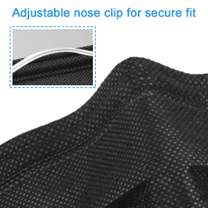 Customised Earloop Deposable 3Ply Surgical Medical Plain Pattern Best Latest Design Flat 4-Ply Disposable Custom Black Face Mask