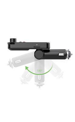 2021 универсальный автомобильный беспроводной FM-передатчик BT93, mp3-плеер с двойным USB-зарядным устройством для телефона