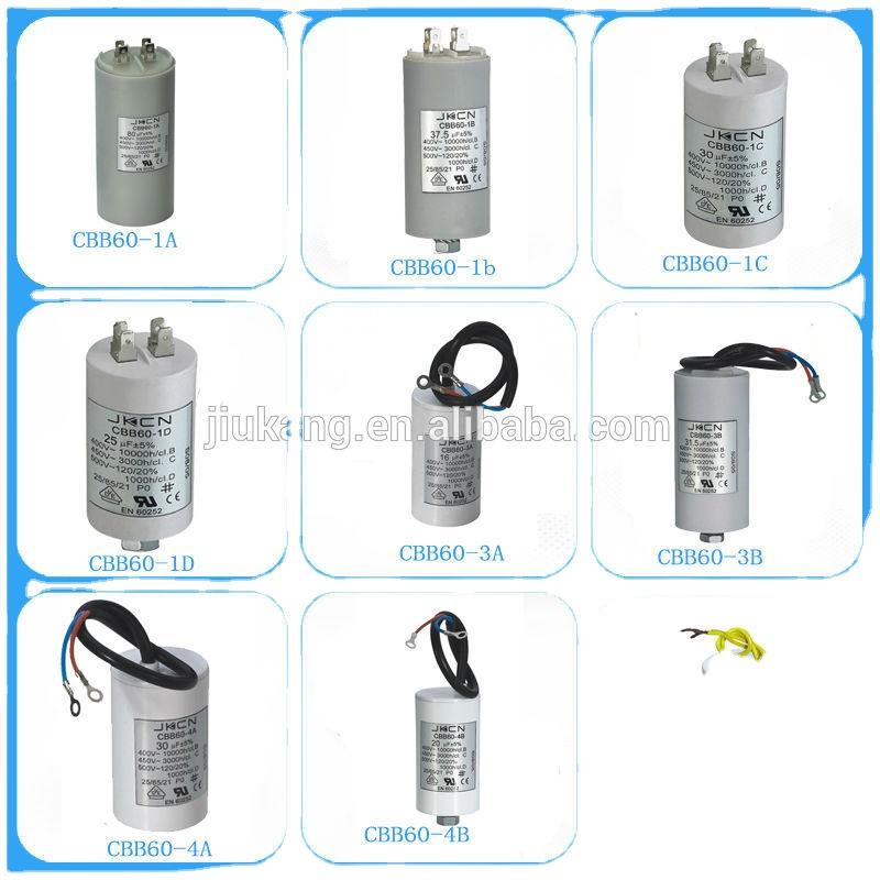 high quality cbb60 20uf 250v capacitor for lighting
