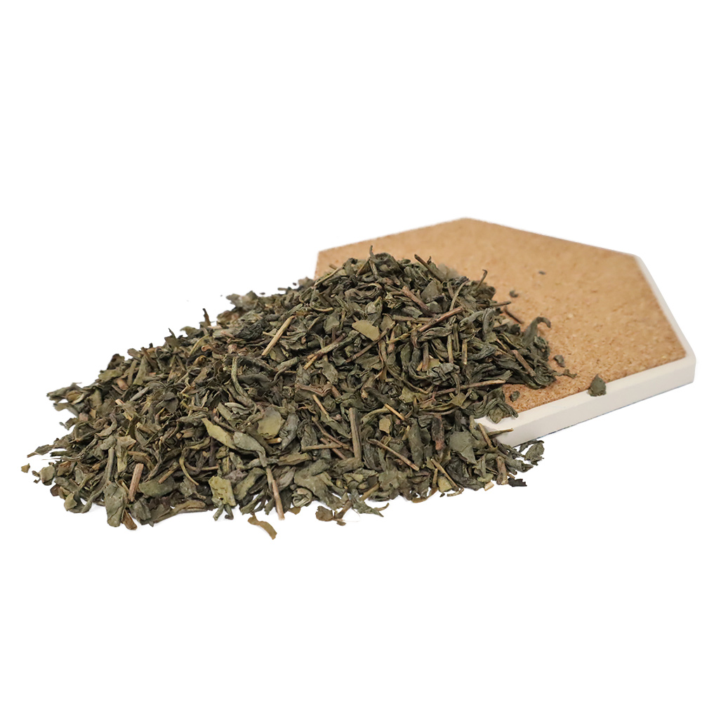 mint satchets Label Chunmee 9366 North Africa Central Asian Market manufacturing process of green tea for Sale Wholesale Price - 4uTea | 4uTea.com