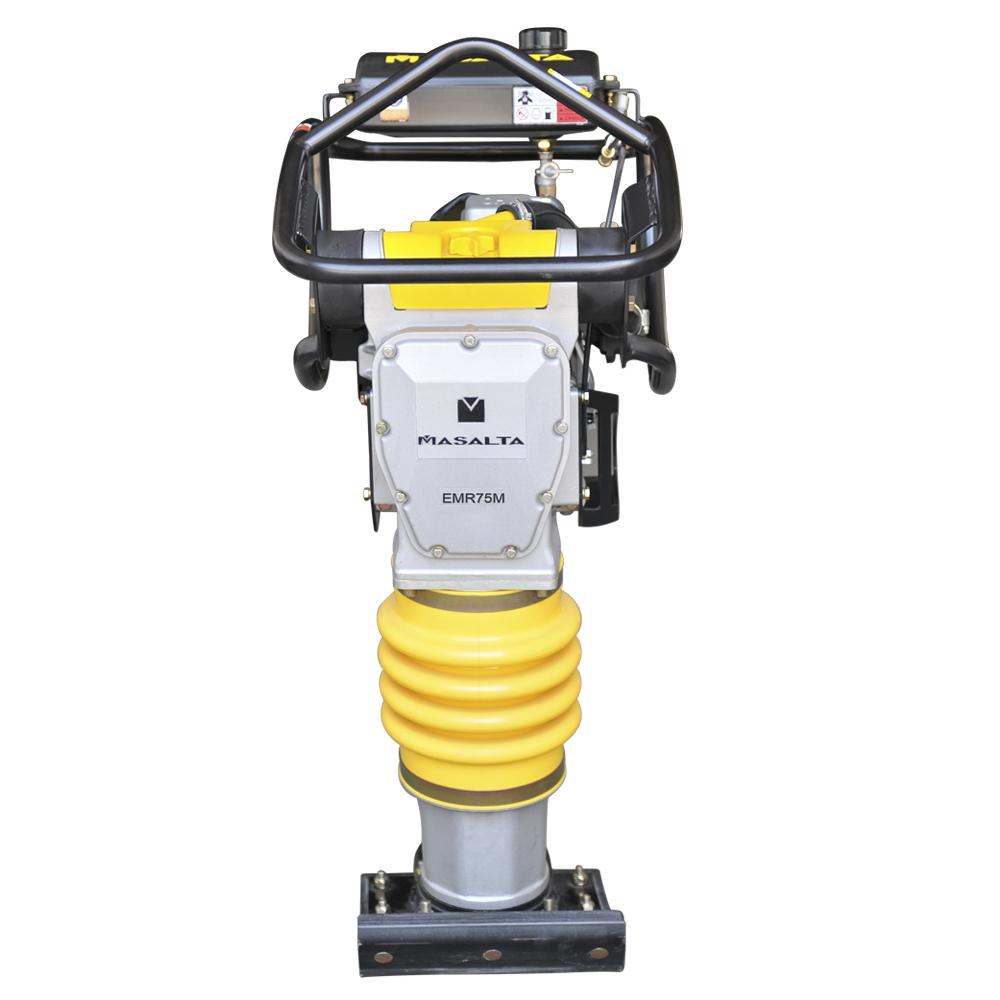 Экономичный уплотнитель EMR75M, трамбовочная машина, 75 кг, вибрирующий Темпер с бензиновым двигателем, CE EPA ISO 340*285 мм, предоставлен CN;ANH